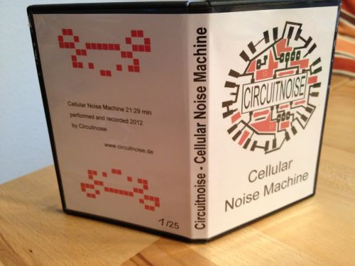 Cellular Noise Machine - Mini CD Release Cover
